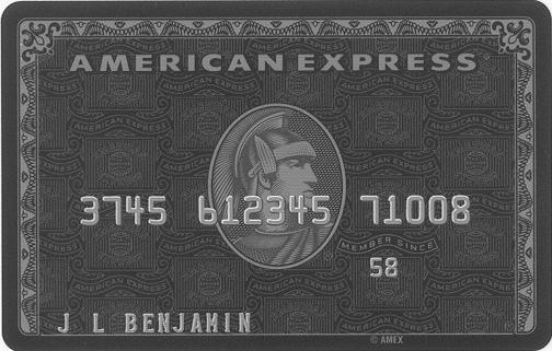 American Express Centurion Card